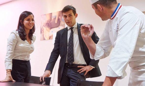 Programme BAC+5 management culinaire et innovation Institut Paul Bocuse