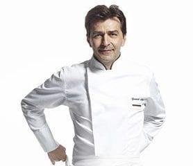 Yannick Alléno, Chef de cuisine triplement étoilé et Président du Comité Bocuse & Co