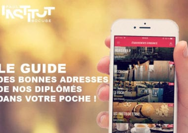 Le Guide : l'application mobile qui recense 300 établissements de diplômés dans le monde