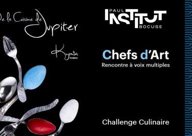 L'Art passe à table avec le challenge culinaire Chefs d'Art