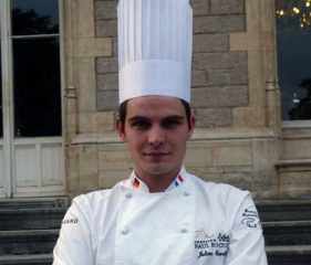 Julien Ferretti - Junior chef R&D au Centre de Recherche Institut Paul Bocuse Lyon