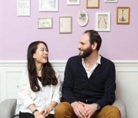 Su Jin et Ronan Maillet - Propriétaires Maillet Pâtisserie Française Séoul