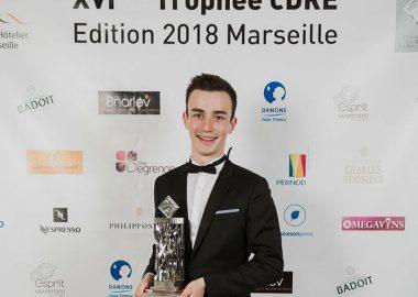 Le Trophée CDRE remporté par François, étudiant à l'Institut Paul Bocuse