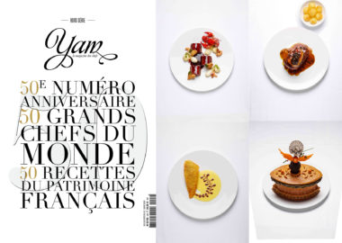 50 recettes patrimoine « made by » Institut Paul Bocuse dans le magazine Yam