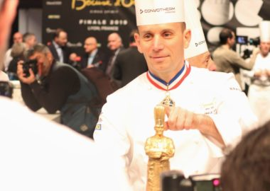 Notre chef Davy Tissot candidat au Bocuse d'Or France