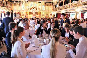 Semaine d'integration : le banquet à l'auberge Paul Bocuse