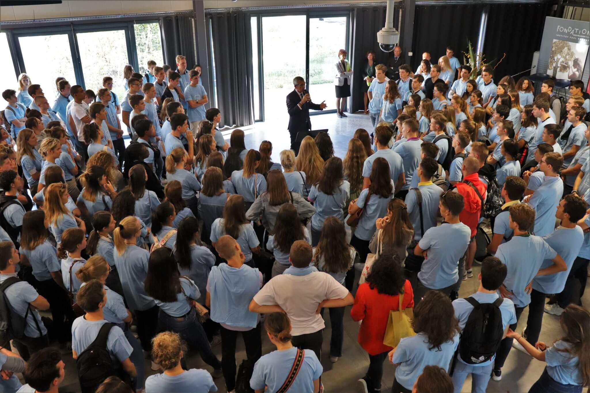 Semaine d'integration : la presentation école