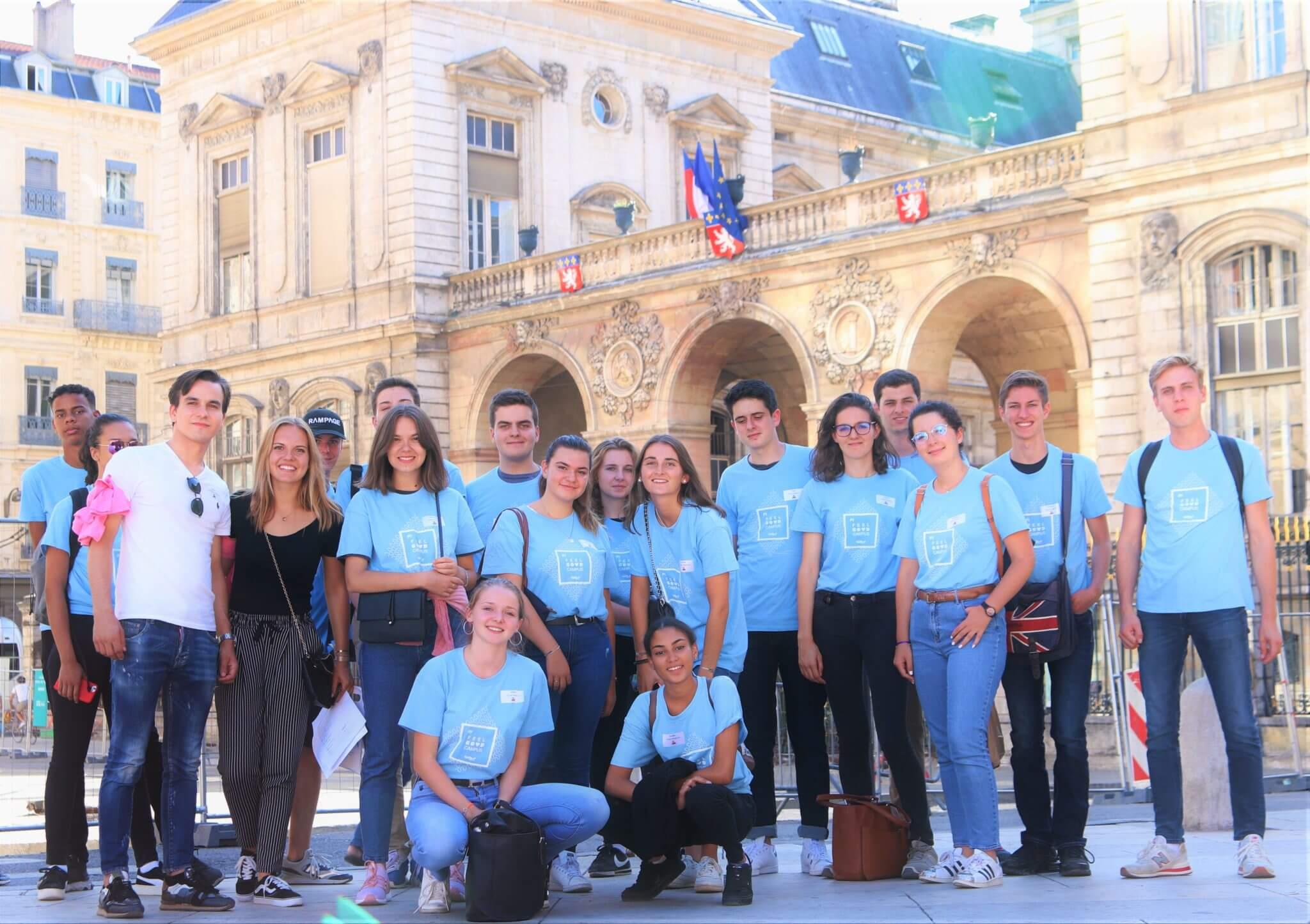 Semaine d'integration : le rallye Lyon