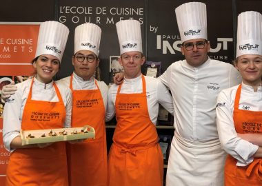 Salon du Chocolat : parenthèse gourmande pour l'Institut Paul Bocuse