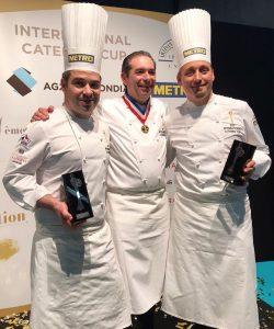 Chef Charretier à l'International Catering Cup