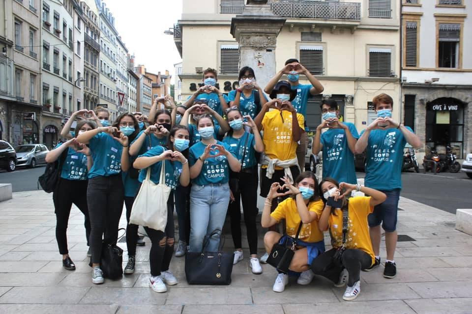 Semaine d'intégration : rallye découverte de la ville de Lyon