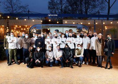 Nos étudiants et diplômés acteurs de l'initiative solidaire « La Caravane des Chefs » à Lyon