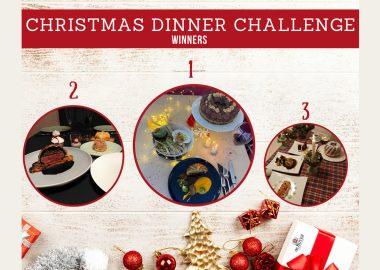 Nos étudiants démontrent leurs talents dans le cadre du Christmas Dinner Challenge
